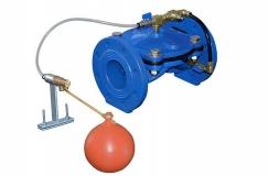 Поплавковый клапан регулирования уровня жидкости