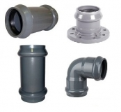 Фитинги ПВХ для наружного водопровода