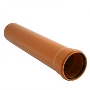 Труба для наружной канализации ПВХ SN4